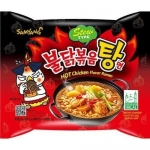 Samyang Hot Chicken Flavour Ramen Stew Type, ostra zupa!