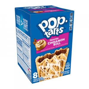 Pop Tarts Frosted Cinnamon Roll