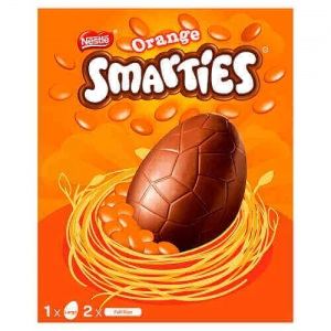 Smarties Large Egg Orange 256g