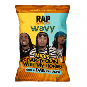 Rap Snack Migos Honey BBQ with Ranch