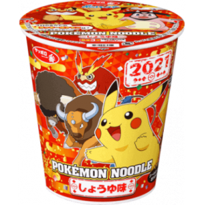 Pokemon Noodle Shoyu 2021 New Year Special Edition