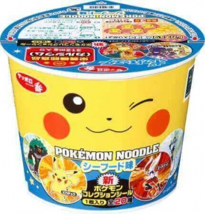 Pokemon Noodle Cup Seafood