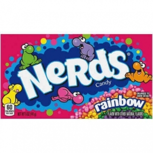 Cukierki Wonka Rainbow Nerds Box