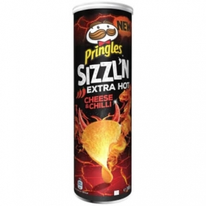 Pringles Sizzl'n Cheese and Chilli