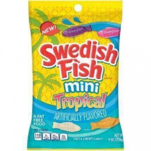 Swedish Fish Tropical 226g