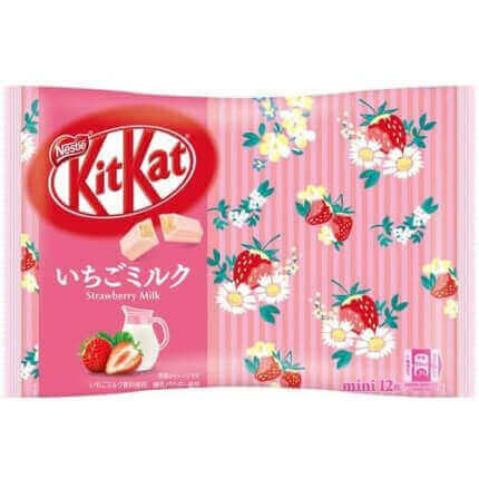 Japoński Kit Kat Strawberry Milk